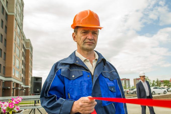Торжественное завершение строительства первого этапа Питерского проспекта в пос. Новоселье фото 8