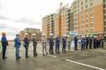 Торжественное завершение строительства первого этапа Питерского проспекта в пос. Новоселье фото 26