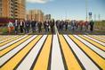 Торжественное завершение строительства первого этапа Питерского проспекта в пос. Новоселье фото 22