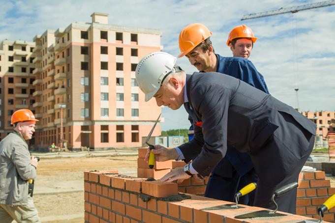 В жилом квартале NEWПИТЕР (пос. Новоселье) заложен первый детский сад фото 12