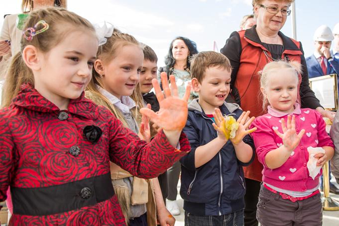 В жилом квартале NEWПИТЕР (пос. Новоселье) заложен первый детский сад фото 0