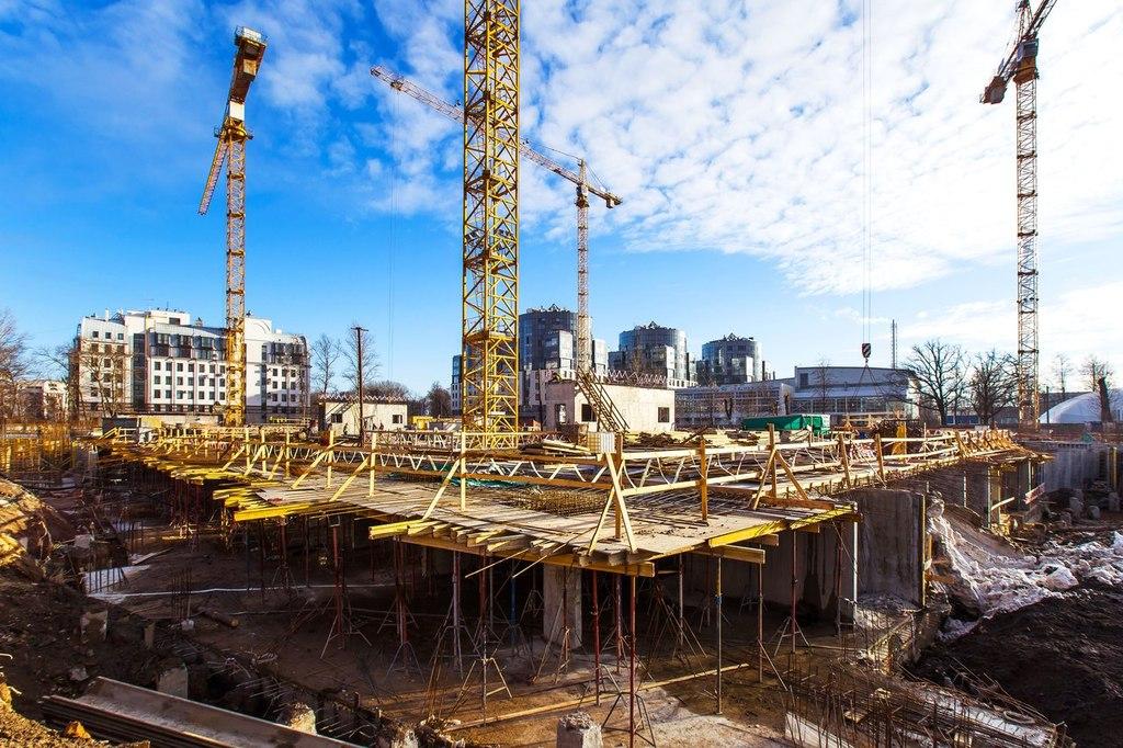 ход строительства жилого комплекса OSTROV за Март 2016 год  - Строительный трест