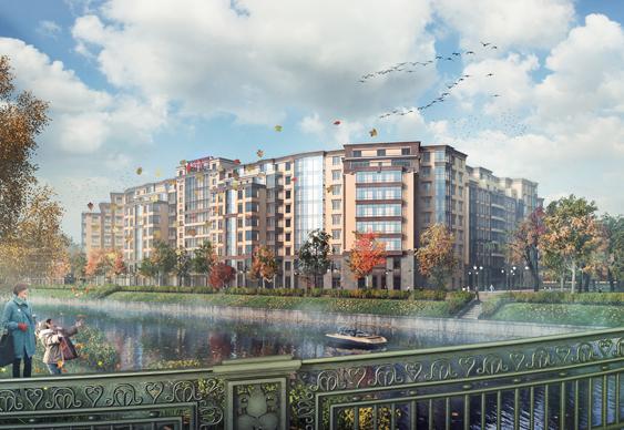 «Строительный трест» приступает к новому объекту  бизнес-класса на Петровском острове - Строительный трест - фото №2