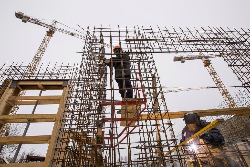 ход строительства жилого комплекса OSTROV за Апрель 2016 год  - Строительный трест