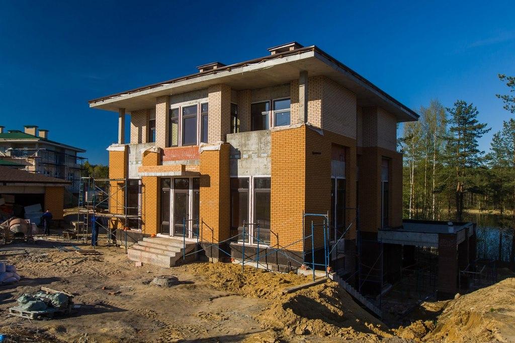 ход строительства жилого комплекса Озёрный край за Май 2016 год  - Строительный трест