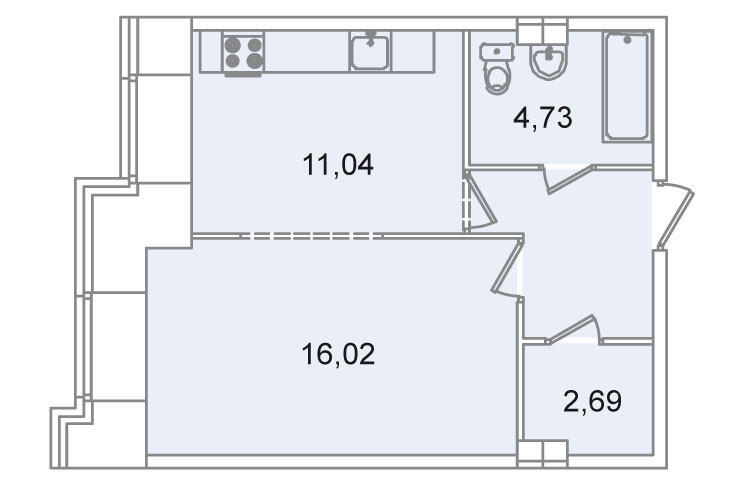 Спланируйте квартиру - перепланировка квартиры - Vashdomru