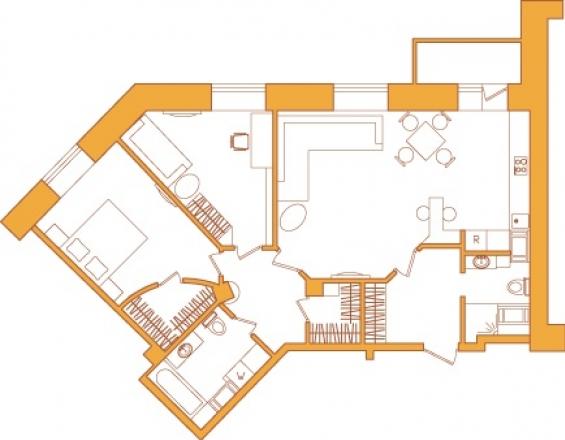 Перепланировка — создание идеальной квартиры - Строительный трест - фото №4
