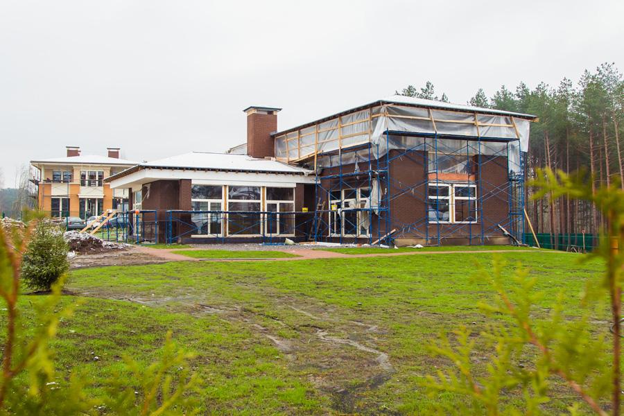 ход строительства жилого комплекса Озёрный край за Октябрь 2016 год  - Строительный трест