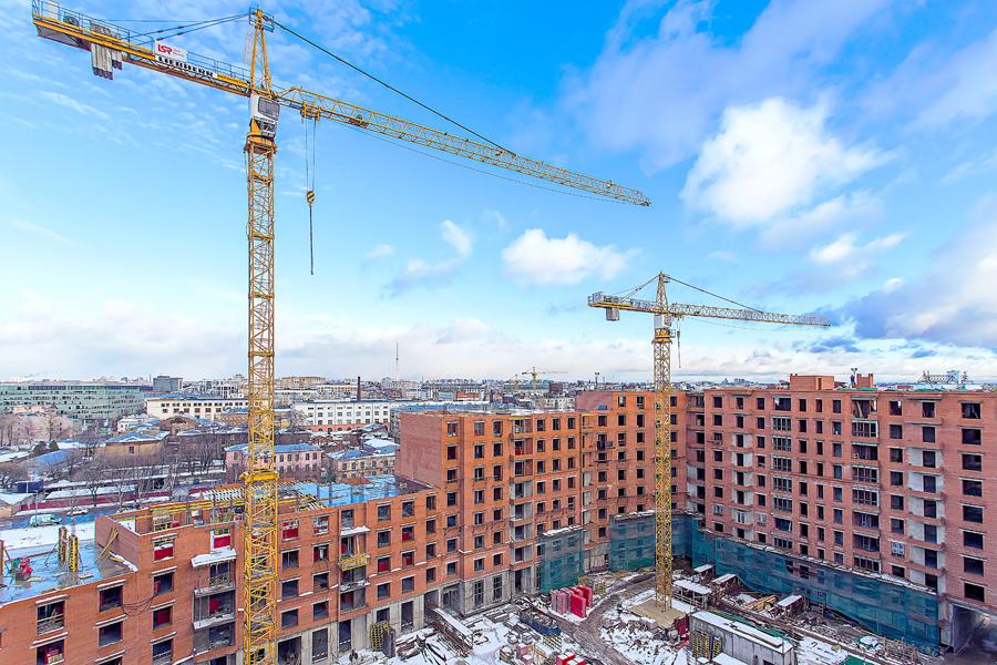 ход строительства жилого комплекса OSTROV за Декабрь 2016 год  - Строительный трест
