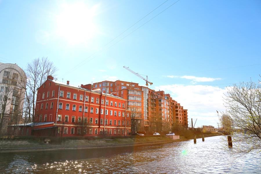 ход строительства жилого комплекса OSTROV за Май 2017 год  - Строительный трест