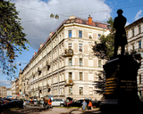Строительный трест - построенный объект: Пушкинская ул., д.10